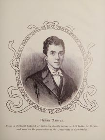 Missionary Henry Martyn
