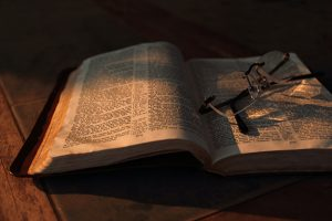 Open Bible, Photo by Timothy Eberly
